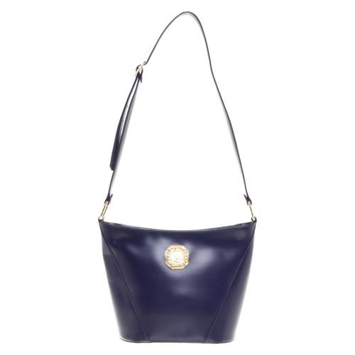 03f3cbed154a Yves Saint Laurent Shoulder bag in blue - Second Hand Yves Saint ...