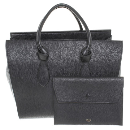 "Céline ""Tie Tote Bag"" in black"