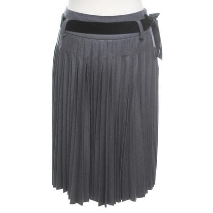Céline skirt with pleats