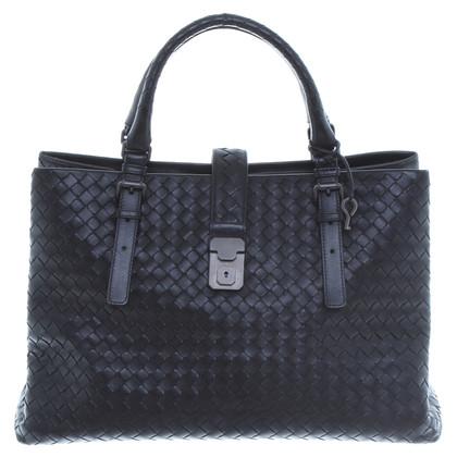 Bottega Veneta Handbag with a wicker structure