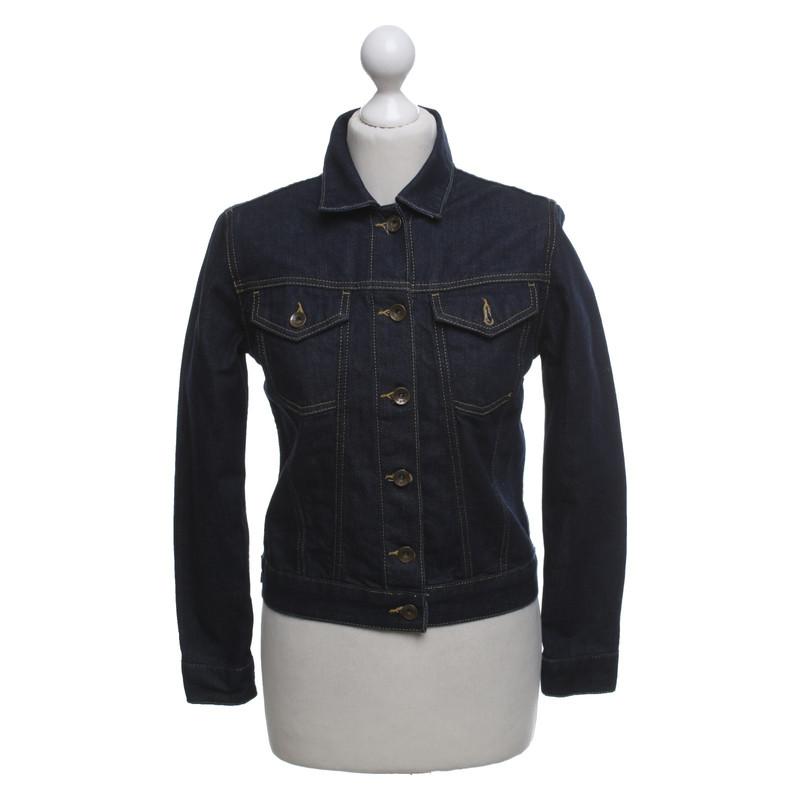 Jeansjacke schwarz gebraucht