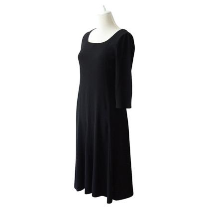 Max Mara Midi Kleid mit 3/4-Armen