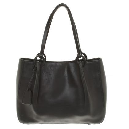 Gucci Lederen handtas in zwart