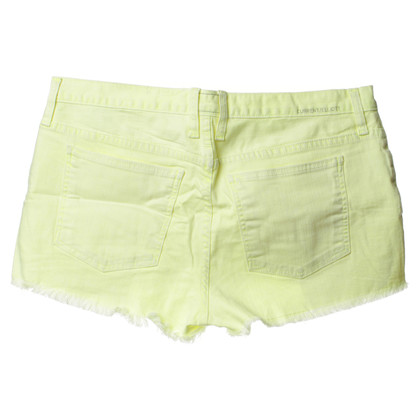 Current Elliott Shorts geel