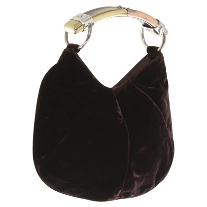 Yves Saint Laurent Small handbag made of velvet