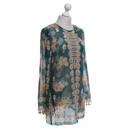 Anna Sui Blouse with floral pattern