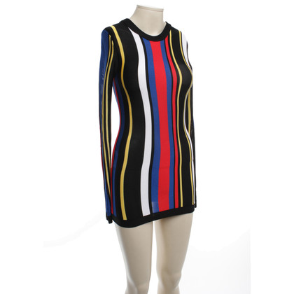 Balmain top with stripe pattern