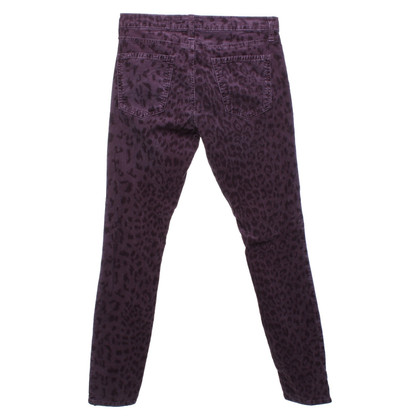 Current Elliott Corduroy pants with pattern