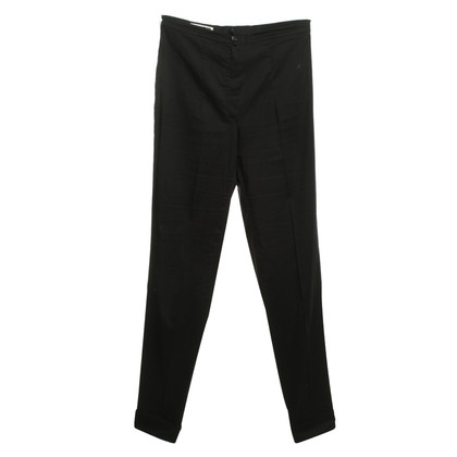 Jil Sander trousers in black