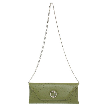 Laurèl clutch in groen