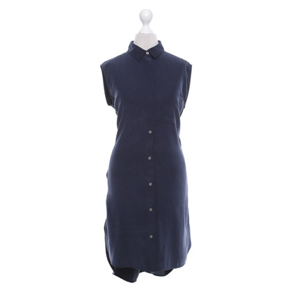 Frame Denim Silk dress in dark blue