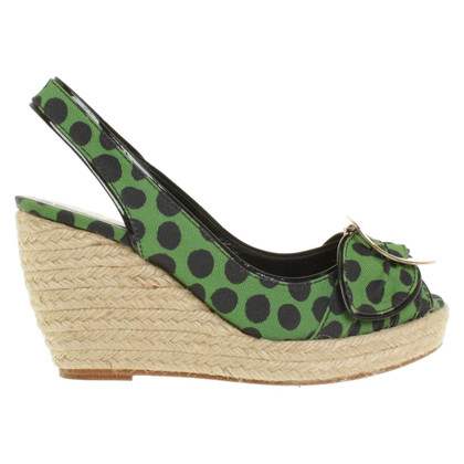Roger Vivier Wedges with dot pattern
