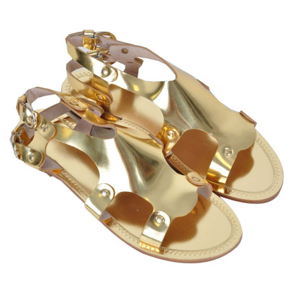 D&G Sandals in gold