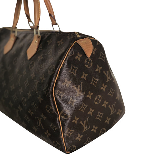 selezione migliore 9ab26 d7da0 Louis Vuitton Speedy in Tela in Marrone - Second hand Louis ...