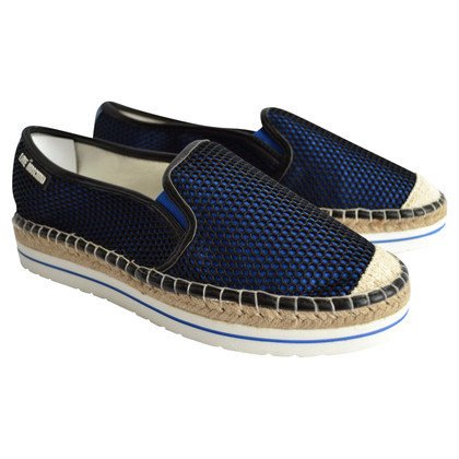 Moschino Love Espadrilles in Blue / zwart
