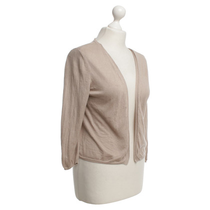 René Lezard Cardigan in Beige
