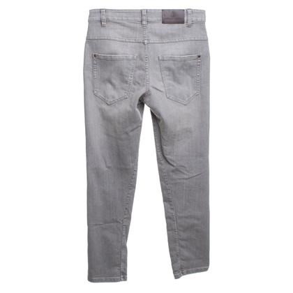 Brunello Cucinelli Jeans in Grau-Braun