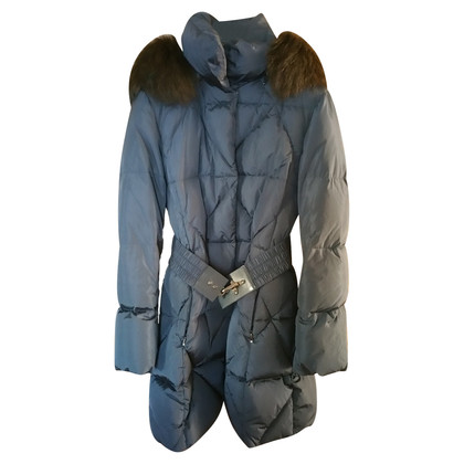 Fay Long down jacket with hood