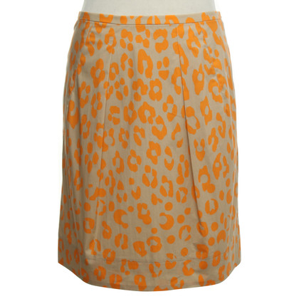 Luisa Cerano skirt with leopard print