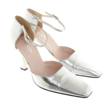 Escada Sandals in silver