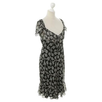 Moschino Silk dress with pattern