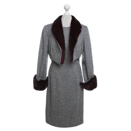 Badgley Mischka Dress with jacket