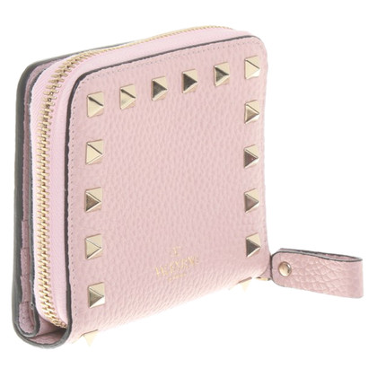 Valentino Rockstud wallet in pink