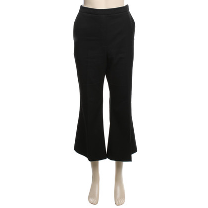 Iris & Ink Wrap-around trousers in black