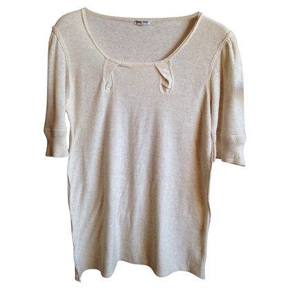 Miu Miu Shirt aus Leinen