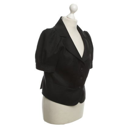 Juicy Couture Kurzarm-Blazer in Schwarz