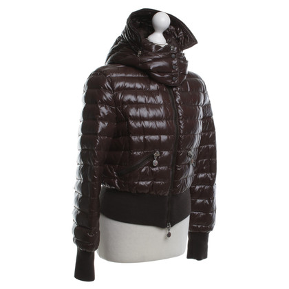 Moncler Piumino in marrone scuro