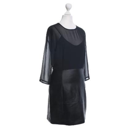 Sandro Leather dress