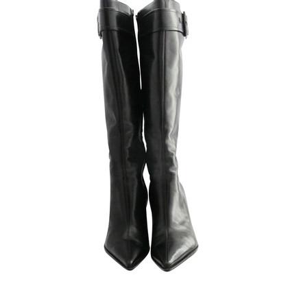 Sergio Rossi zwarte laarzen