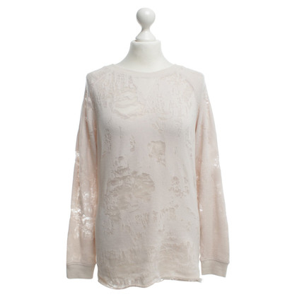 Iro Pullover mit transparenten Elementen
