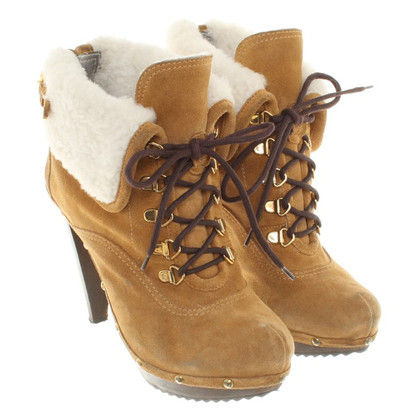 Dsquared2 Ankle boots with lambskin