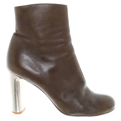 Céline Ankle boots with metal heel
