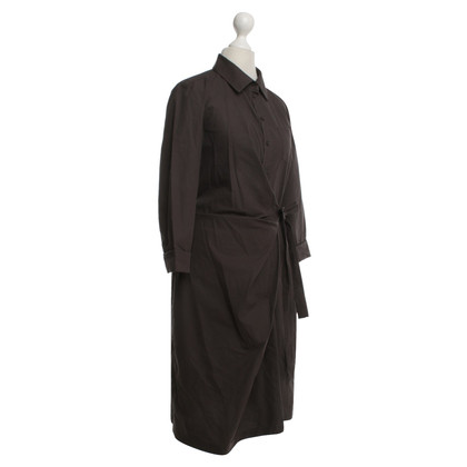 Max Mara Hemdkleid in Wickel-Optik