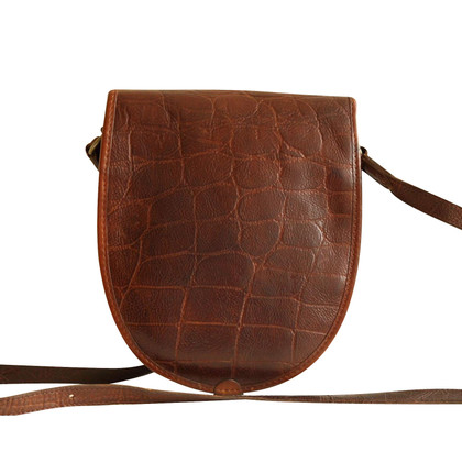 Mulberry Cross body bag in brown Congo leather