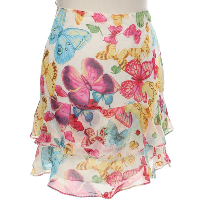 Karen Millen skirt with butterfly print