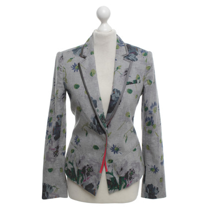 Elizabeth & James Blazer in Grau/Multicolor