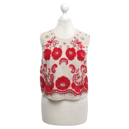 Other Designer Needle & Thread - Top with embroidery