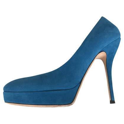 Gucci Blue suede