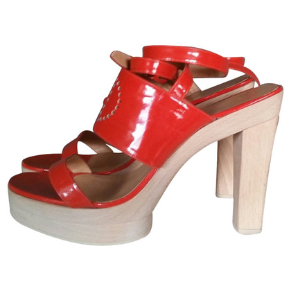 Hermès Patent Leather sandals