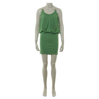 Alexander McQueen Pinafore dress in green