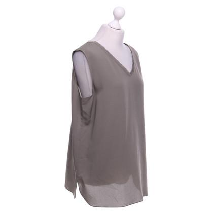 Iris von Arnim Sleeveless silk blouse