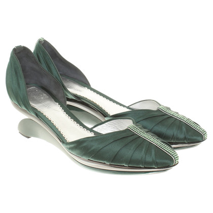 Armani pumps in groen
