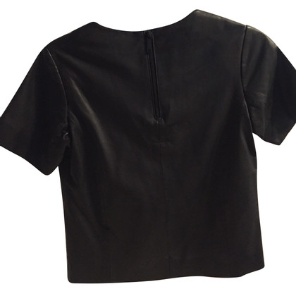 Karl Lagerfeld Leather shirt in black