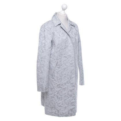 Dondup Coat with jacquard pattern