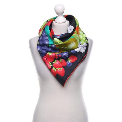 Leonard Zijden sjaal met motiefprint