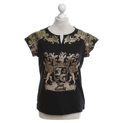 Just Cavalli T-shirt with motif print